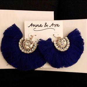 Anna & Ava Fan Earrings
